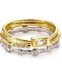 Argento Vivo - Rings, Set Of 3 - Lyst