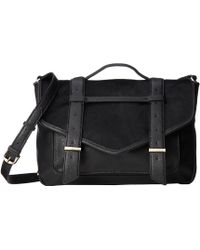 Sam Edelman English Schoolgirl Haircalf Messenger - Lyst