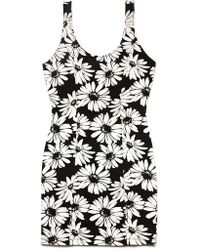 Forever 21 Forever Floral Knit Dress - Lyst