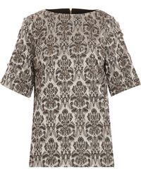 Day Birger Et Mikkelsen Bling Black  White Printed Shirt - Lyst