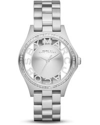 Marc By Marc Jacobs Henry Skeleton Watch, 34Mm - Lyst