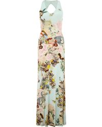 Mary Katrantzou Sterne Dress Lobelia Sky multicolor - Lyst