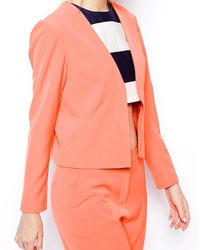 Asos Soft Blazer With Clean Lapel - Lyst