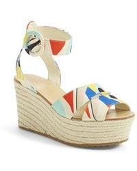 Alice + Olivia Roberta Espadrille Platform Sandals - Lyst