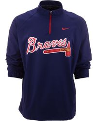 Nike Mens Atlanta Braves Hot Corner Jacket - Lyst