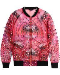 Manish Arora Jacket red - Lyst