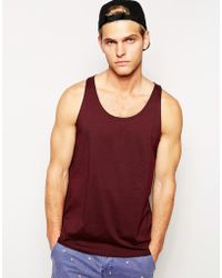 Asos Tank With Relaxed Skater Fit - Lyst