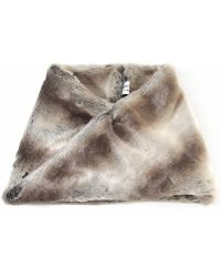 Helene Berman Faux Fur Snood - Lyst