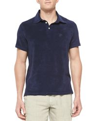 Vilebrequin Terry Polo Shirt - Lyst