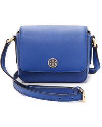 Tory Burch Robinson Mini Bag - Jelly Blue - Lyst