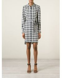 Diane von Furstenberg - Prita Stetch-Silk Dress - Lyst