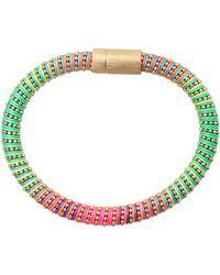 Carolina Bucci - Neon Twister Band Bracelet - Lyst