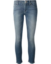 Mother The Looker Crop Jeans - Lyst