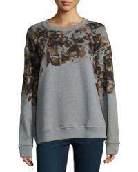 Jason Wu | Floral Print Sweatshirt | Lyst