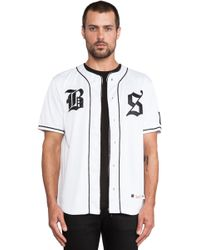 Undefeated White Bs Jersey - Lyst