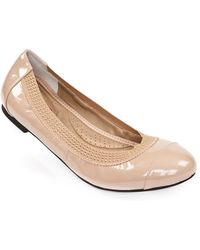 Me Too Kailani Patent Leather Embellished Flats - Lyst