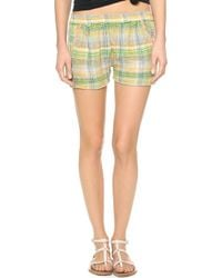 Ace & Jig - Track Shorts Agave - Lyst