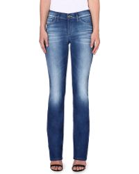 Diesel Bootzee Bootcut Midrise Jeans Blue - Lyst