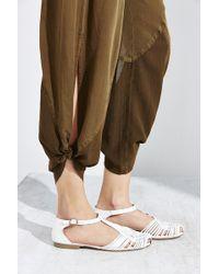 Ecote - T-strap Huarache Sandal - Lyst