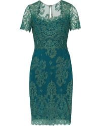 Notte By Marchesa Lace Cocktail Mini Dress - Lyst