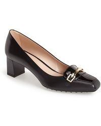 Tod's Leather Pump - Lyst