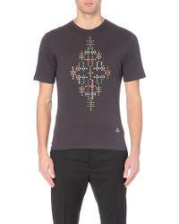 Vivienne Westwood Diamonds Cotton-Jersey T-Shirt - For Men - Lyst