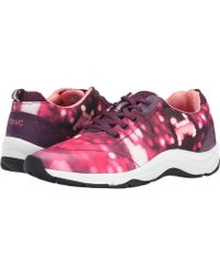Vionic - Action Tourney Lace-up Trainer - Lyst