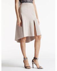 Halston | Ultrasuede Skirt | Lyst