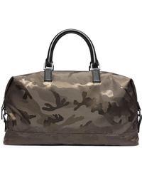 Michael Kors Kent Camouflage Nylon Duffel - Lyst