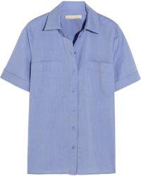 Vanessa Bruno Bangalore Cotton-Chambray Shirt - Lyst