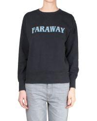 Etoile Isabel Marant Eric Cotton Oversized Printed Faraway Sweatshirt - Lyst