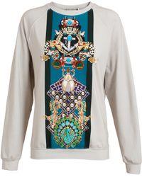 Mary Katrantzou Totem Print Sweatshirt - Lyst