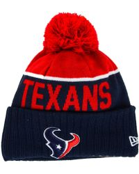 47 brand Houston Texans Breakaway Knit Hat in Red for Men | Lyst