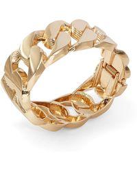 Cara - Curb Chain Hinge Bracelet - Lyst