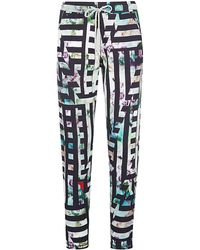 Paul by Paul Smith - Floral Stripe Joggers - Lyst