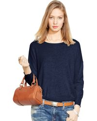 Polo Ralph Lauren Dropped-Shoulder Sweater - Lyst