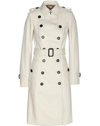 Burberry Prorsum Cotton-Twill Trench Coat - Lyst
