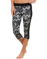Adidas Techfit Threequarter Tight Chevron - Lyst