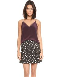 Rory Beca - Crusader Camisole - Bordeaux - Lyst