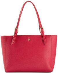 Tory Burch Small 'York' Buckle Tote - Lyst