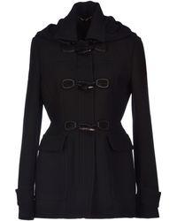 Gucci Black Coat - Lyst