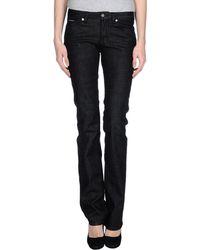 D&G Denim Trousers black - Lyst