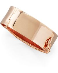 Eddie Borgo - Safety Chain Cuff - Lyst