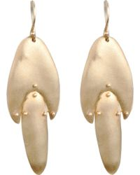 Ten Thousand Things - Gold Medium Jointed Shape Earrings - Lyst