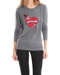 Markus Lupfer Bleeding Love Jumper Sweater - Lyst