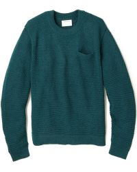 Patrik Ervell - Pocket Jumper In Baby Alpaca - Lyst