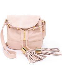 See By Chloé Vicki Cross Body Bag - Pink/Beige - Lyst