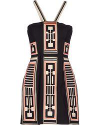 Sass & Bide Short Dress black - Lyst