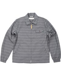 Universal Works Gray Windcheater Jacket - Lyst