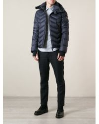 Moncler Grenoble Hooded Padded Jacket - Lyst
